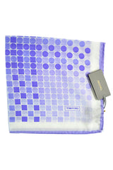 Tom Ford Pocket Square Lilac Polka Dots