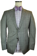 Tom Ford Suit Gray Plaid Men