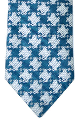 Tom Ford Tie Turquoise Silver