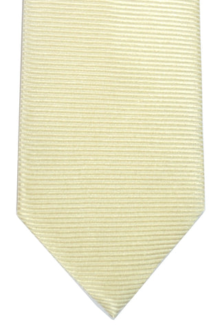 Tom Ford Tie Solid Cream Grosgrain SALE
