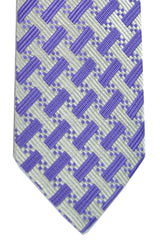Tom Ford Necktie Lilac Gray-Silver