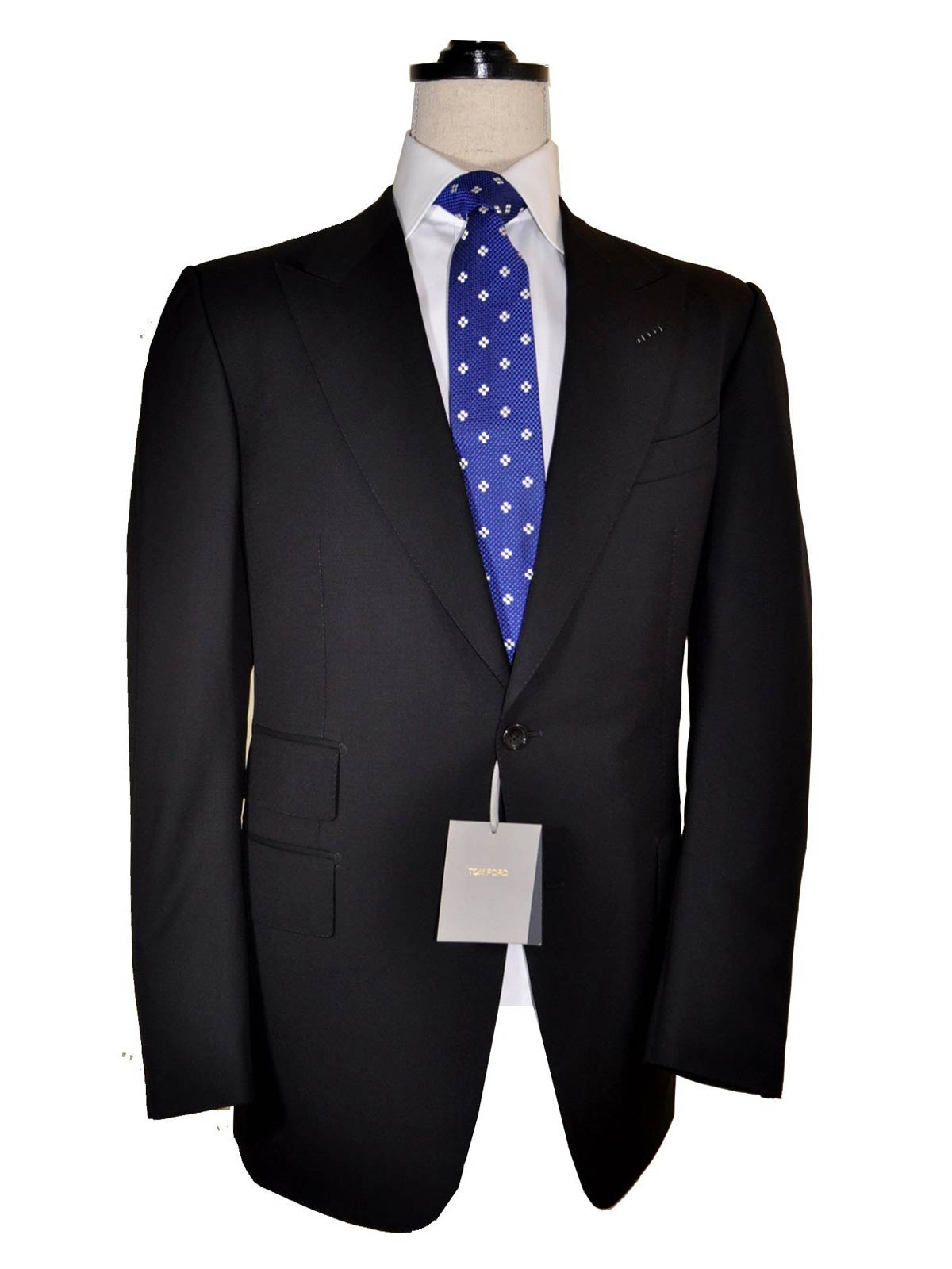 Tom Ford Suit Dark Gray Eur 58l Us 46 Long Reduced Sale Tie Deals