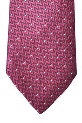 Tom Ford Tie Dust Pink Black Silver Design