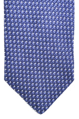 Tom Ford Tie Purple Black Silver