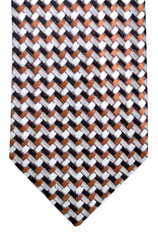 Tom Ford Tie Black Gray Brown FINAL SALE