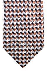 Tom Ford Tie Black Gray Brown