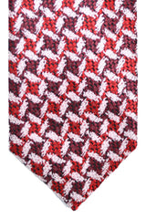 Tom Ford Tie Burgundy Red Pink