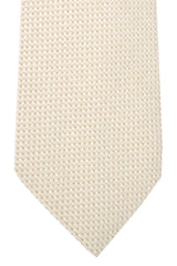Tom Ford Necktie Cream Silver Light Pink
