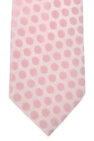 Tom Ford Necktie Pink Polka Dots