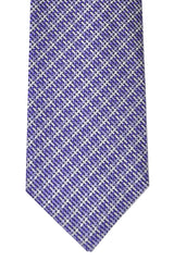 Tom Ford Tie Purple Silver