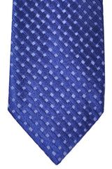 Tom Ford Tie Royal Blue Purple Geometric