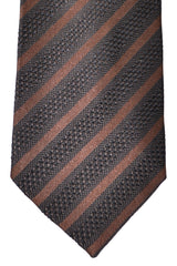 Tom Ford Tie Brown Stripes