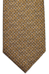 Tom Ford Tie Mustard Black Silver SALE