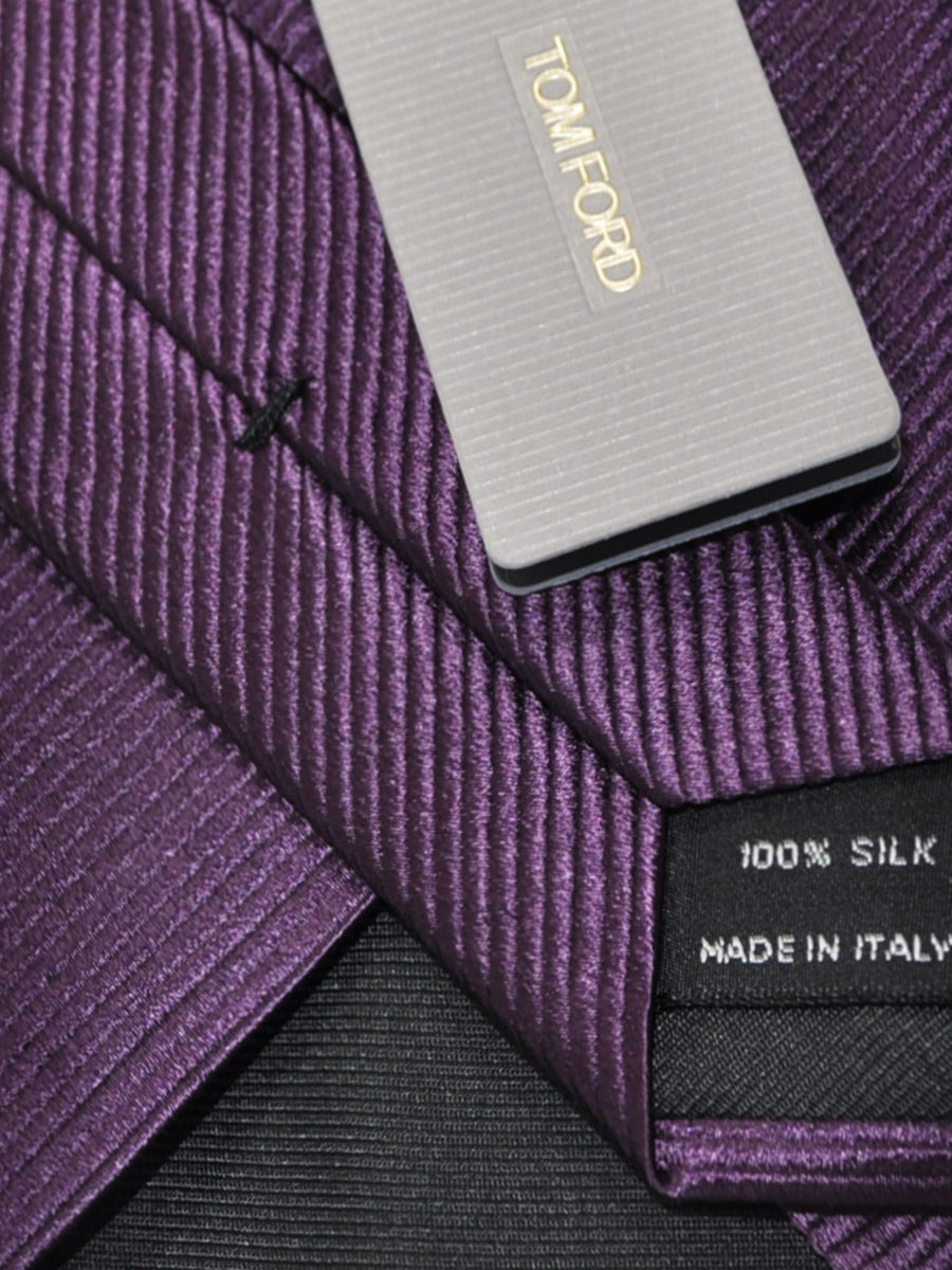 Tom Ford Tie Purple Grosgrain