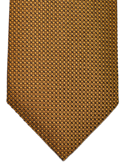 Tom Ford Tie Orange Black Geometric