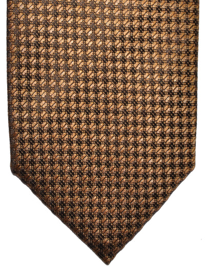 Tom Ford Tie Mustard Black Geometric