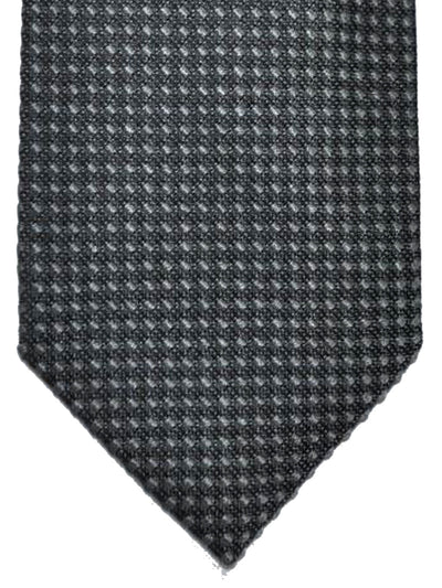 Tom Ford Silk Tie Gray Geometric Design