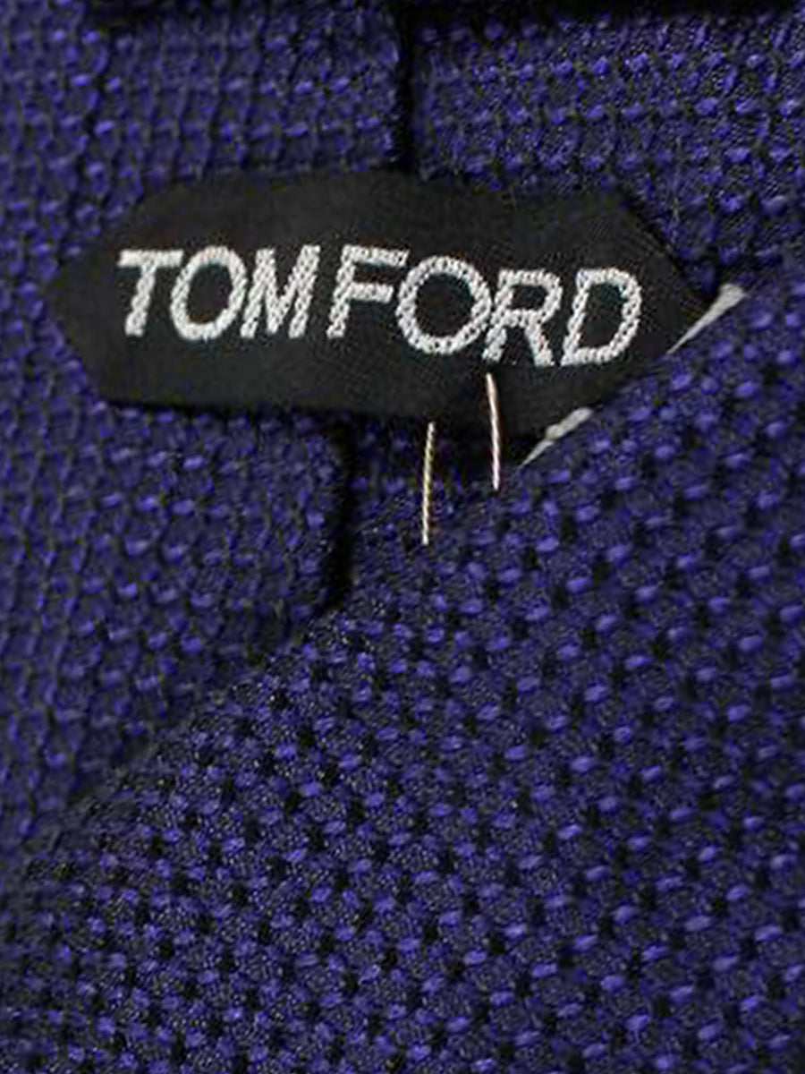 Tom Ford Tie Purple Silk