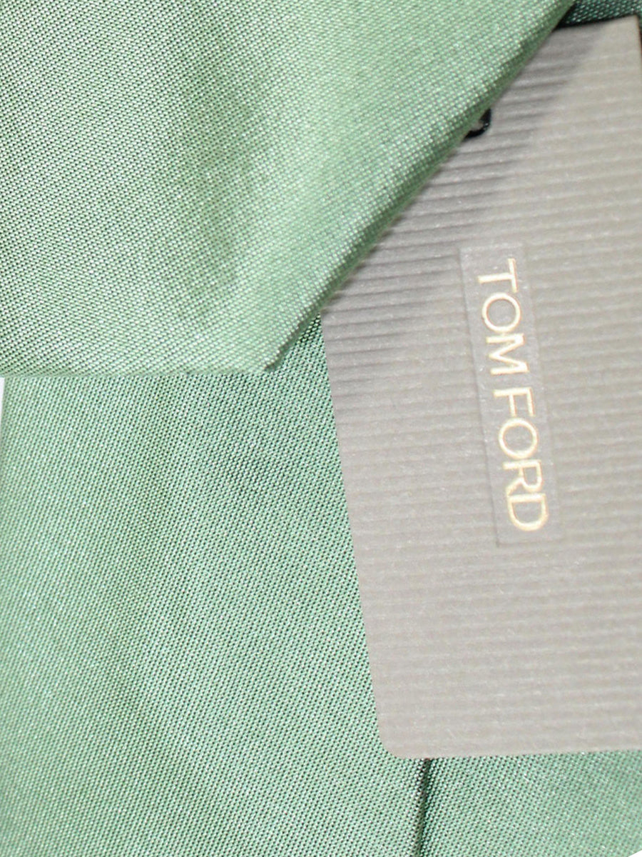 Tom Ford Silk Tie Light Green Solid