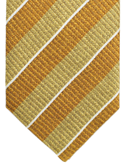 Tom Ford Silk Tie Mustard Stripes
