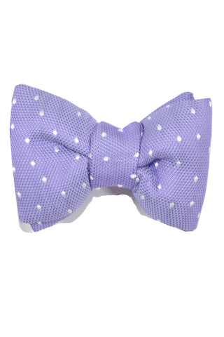 Tom Ford Silk Bow Tie Lilac Dots