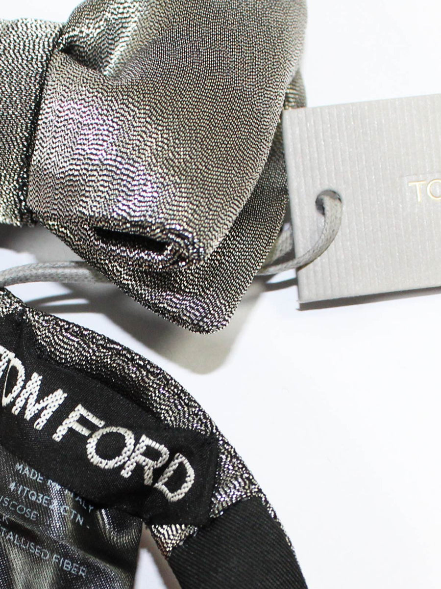 Tom Ford Bow Tie Silver
