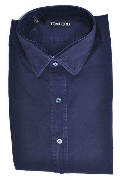 Tom Ford Sport Shirt Dark Blue