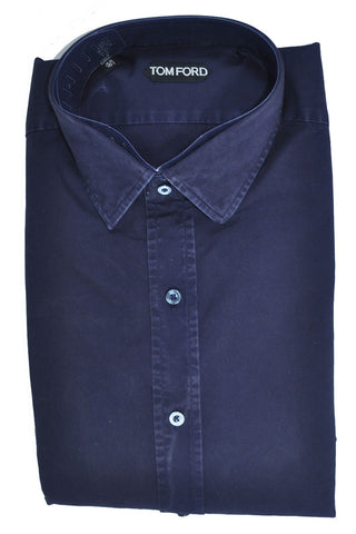 Tom Ford Sport Shirt Dark Purple 44 - 17 1/2 SALE