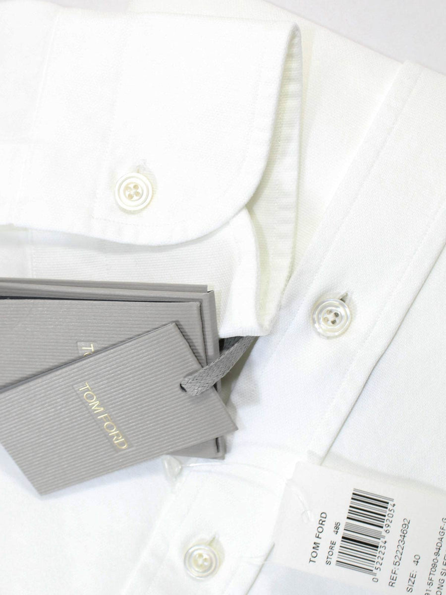 Tom Ford Shirt White Sport Shirt