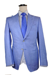 Tom Ford Sport Coat Linen Blue Jacket