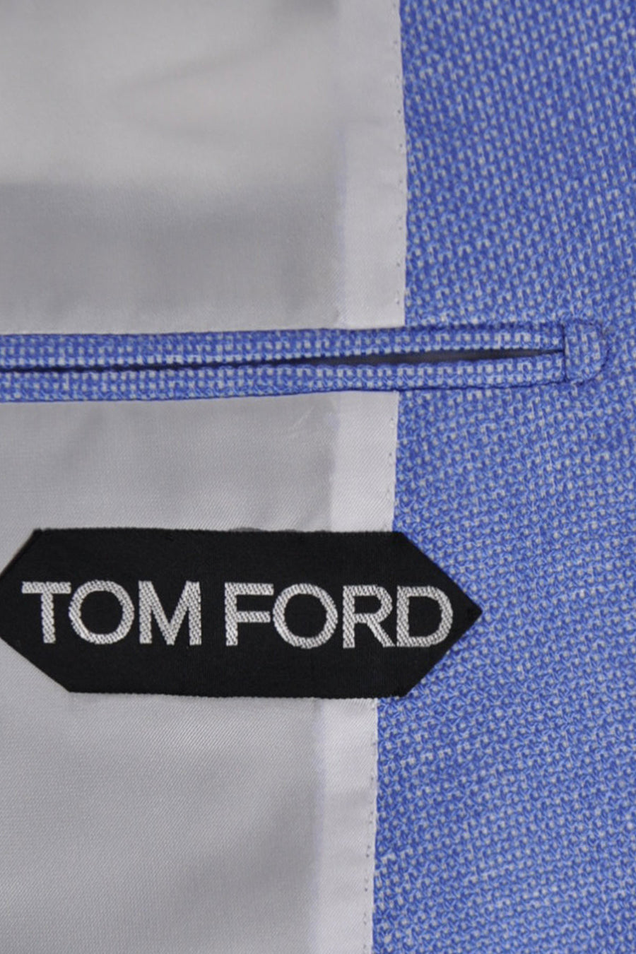 Tom Ford Sport Coat Linen Silk Blue Jacket