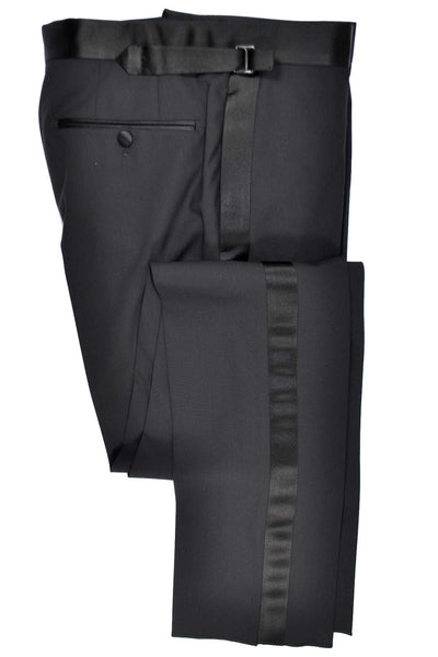 Tom Ford Suit Black Tuxedo Wool Pants