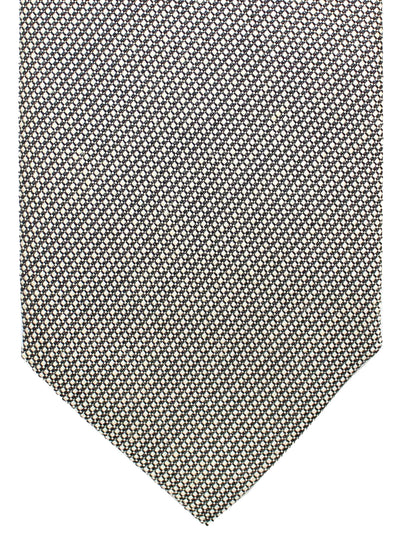 Tom Ford Silk Linen Tie Gray Silver Design