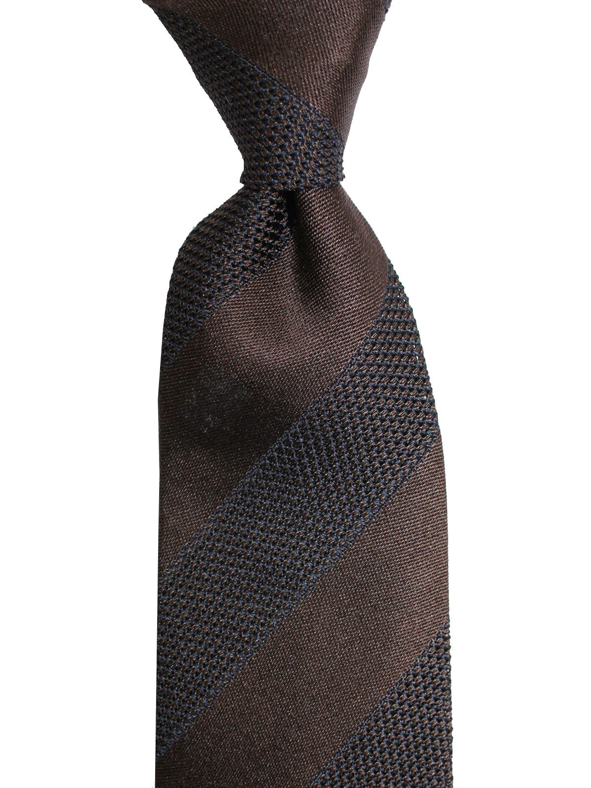 Tom Ford Tie Brown Stripes Design
