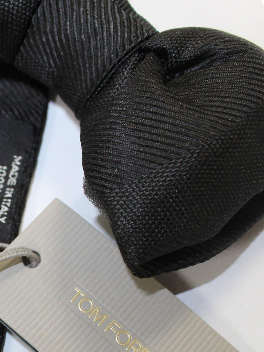 Tom Ford Bow Tie Black Tonal