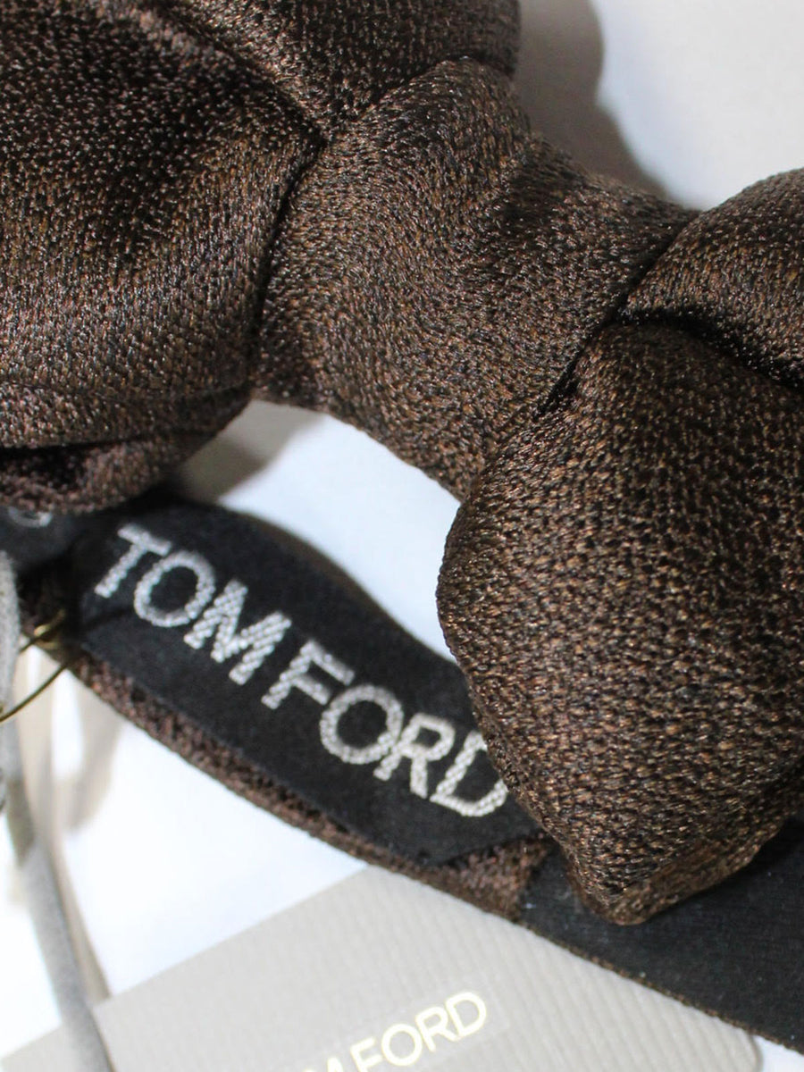Tom Ford Bow Tie Brown Black Design