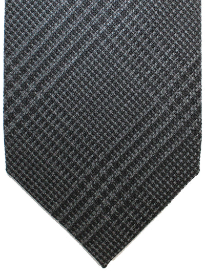 Tom Ford Tie Gray Black Glen Check