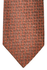 Tom Ford Tie Brown Dots Design
