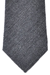 Turnbull & Asser Tie Gray Grosgrain