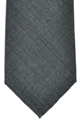 Valentino Silk Tie Charcoal Gray