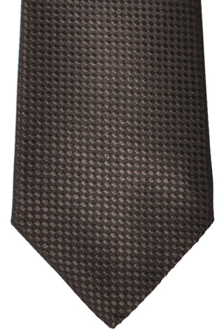 Valentino Silk Tie Brown Design
