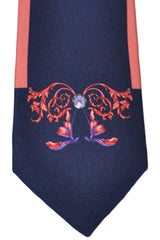 Versace Tie Signature Print - Made in Italy