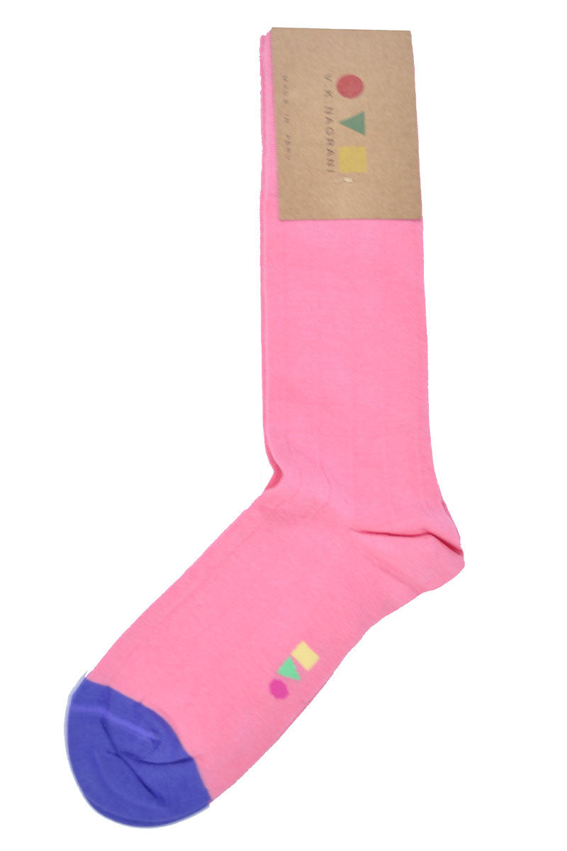 VK Nagrani Men Socks Pink