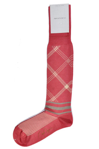 VK Nagrani Men Socks Pink Design SALE