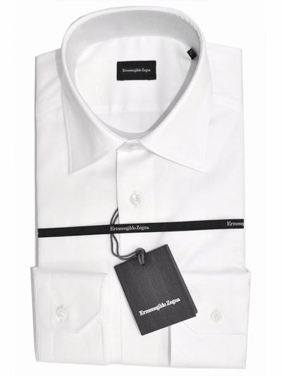 Ermenegildo Zegna Dress Shirt White