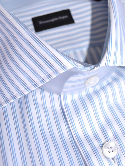 Ermenegildo Zegna Short Sleeve Shirt Collar