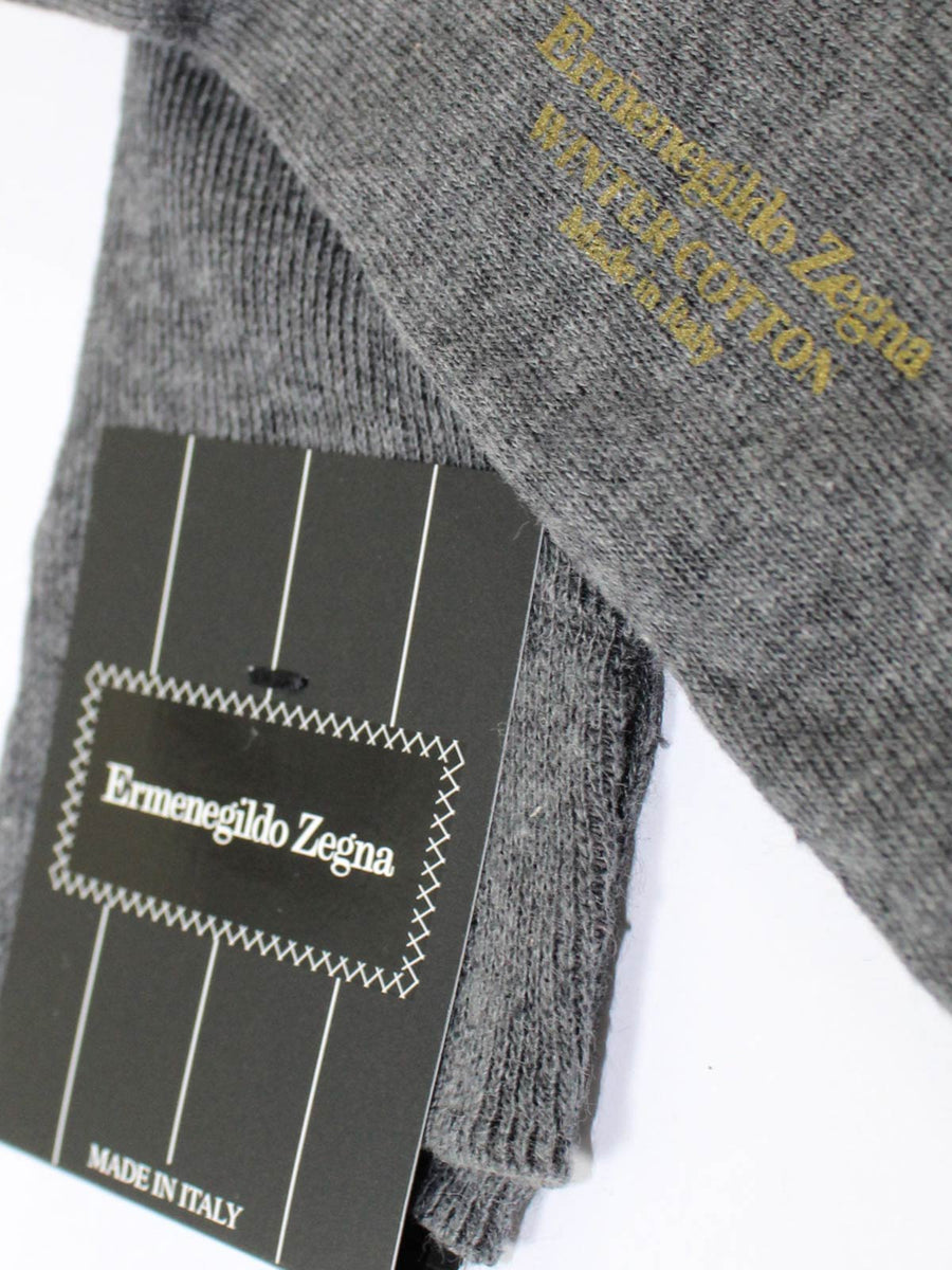 Ermenegildo Zegna Socks Gray - Over The Calf