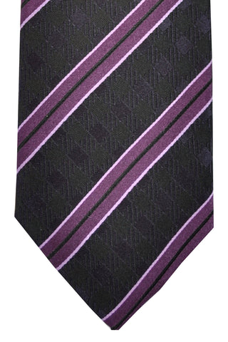 Ermenegildo Zegna Tie Purple Stripes SALE