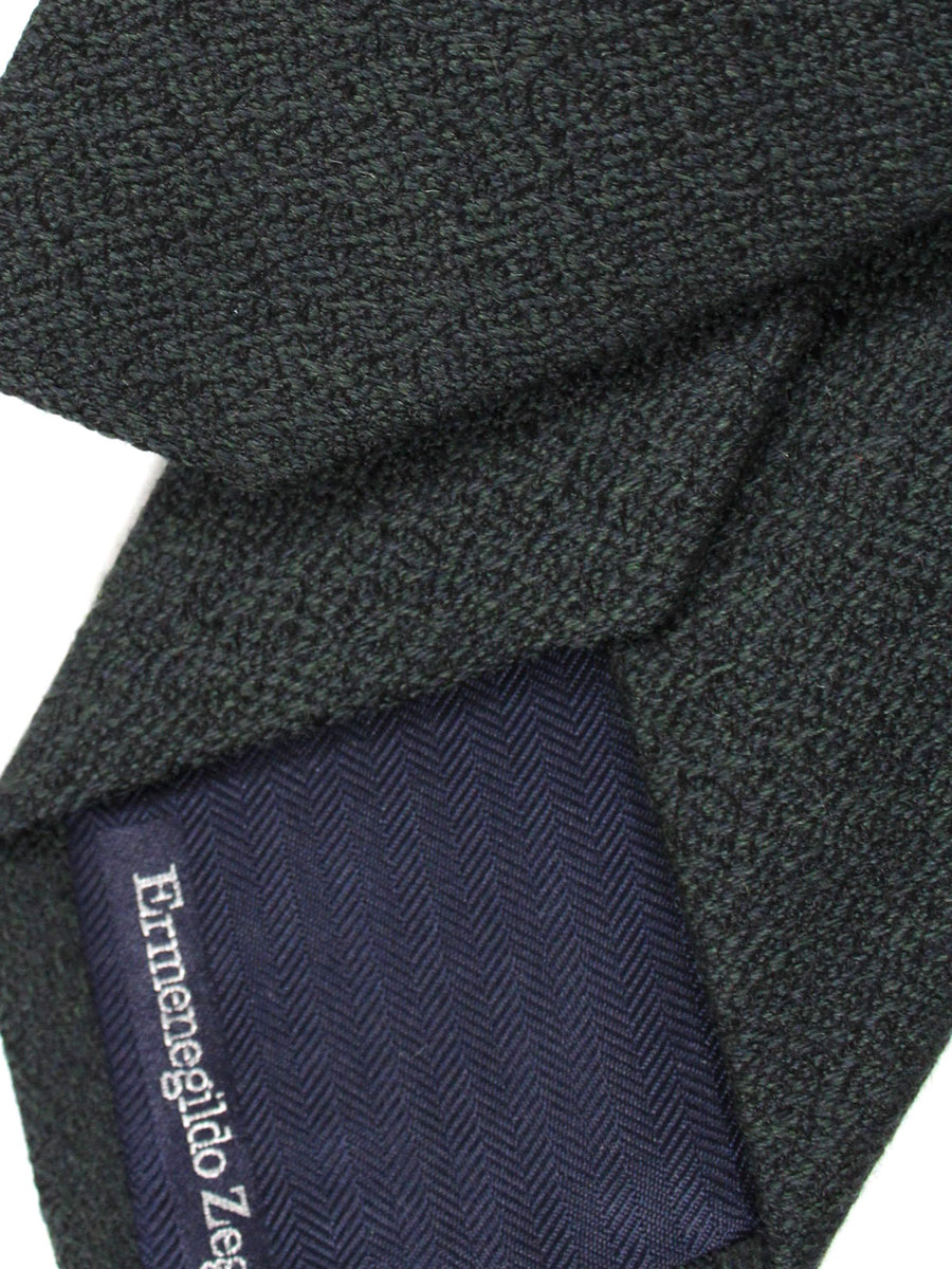 Ermenegildo Zegna Tie Green Midnight Blue