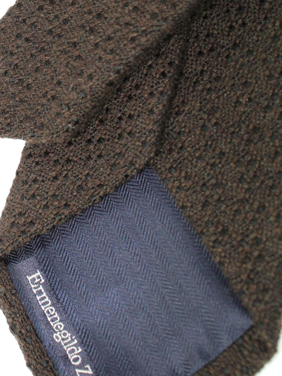 Ermenegildo Zegna Tie Dark Brown